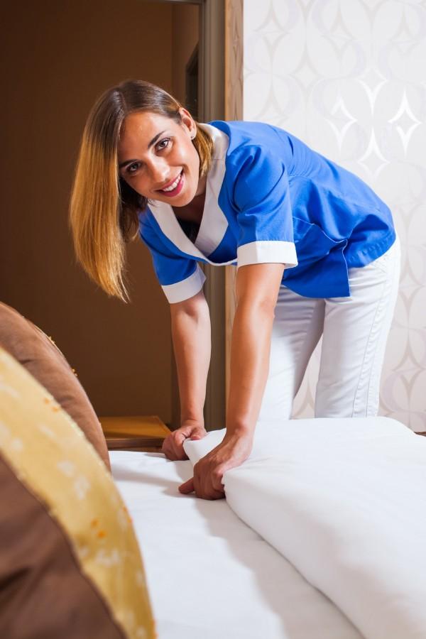 Vask sengetøj hoteller